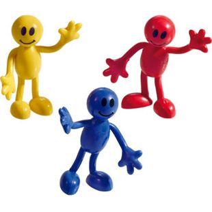 Biegefiguren-Set aus Kunststoff, in drei Farben, 24-teilig - Bild 1
