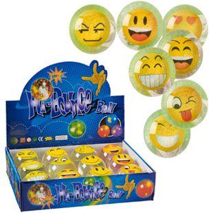 Flummi-Set, 12-tlg. Emojis - Bild 1