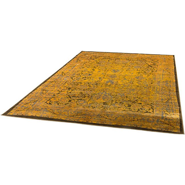 Teppich Antika Goldfarben 140 x 200 cm - Bild 1