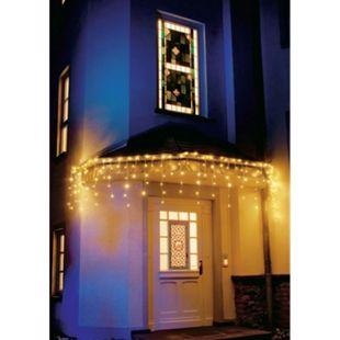 LED-Lichtervorhang, 200 LEDs Eisregen - Bild 1
