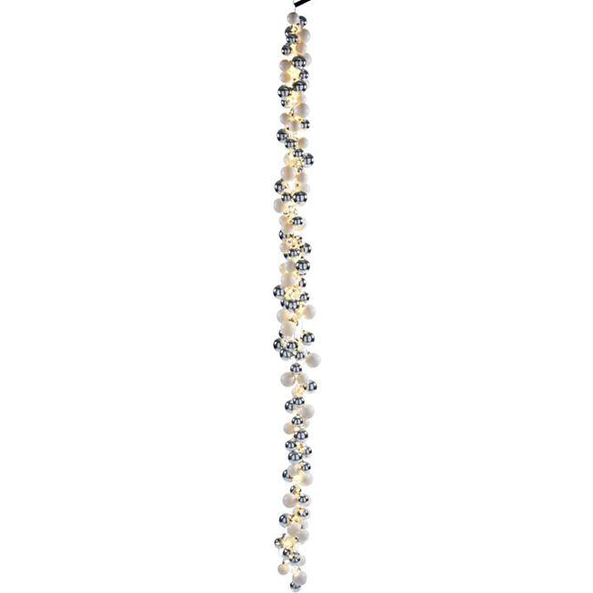 LED-Girlande Glam Silberfarben - Bild 1