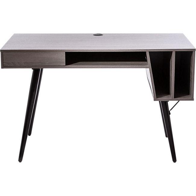 Schreibtisch Kopenhagen Grau - Bild 1