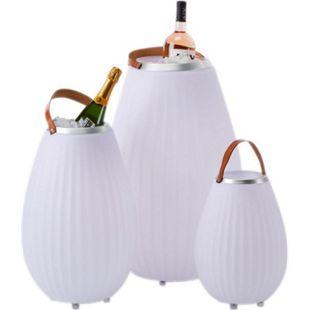 LED-Lautsprecher Multifunktion Weiß klein - Bild 1