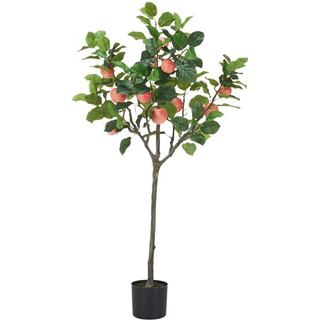 Kunstpflanze Apfelbaum Rot/Grün - Bild 1