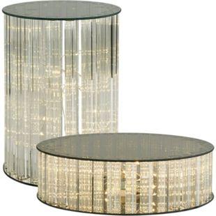 LED-Dekorationsfläche Stardust Grau Ø 22 cm - Bild 1