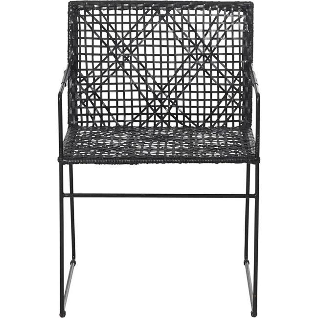 Stuhl Ethno Schwarz - Bild 1