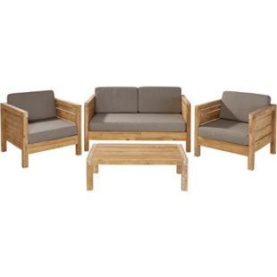 Outdoor-Lounge-Set, 4-tlg. Modeno Natur - Bild 1