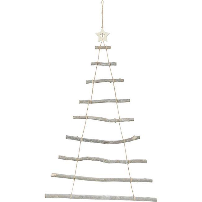 Wand-Objekt Weihnachtsbaum - Bild 1