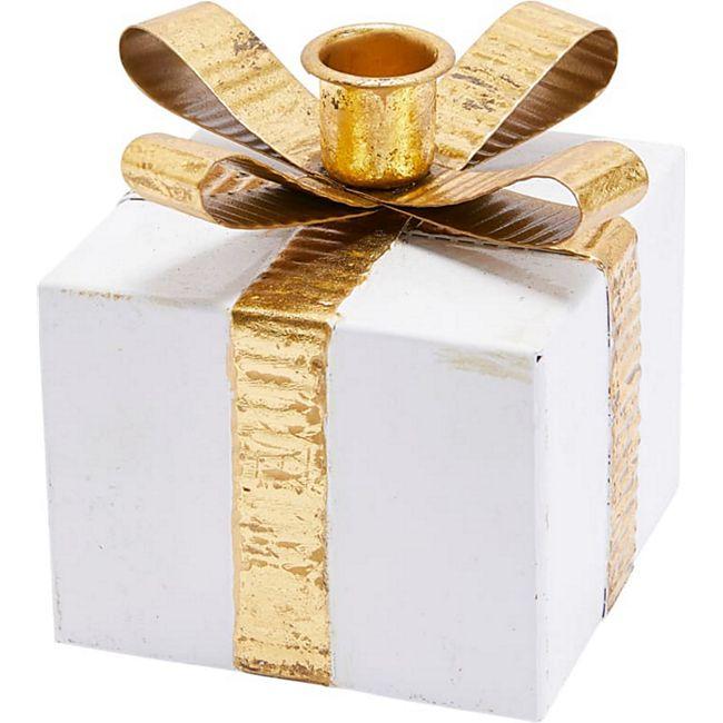 Kerzenhalter-Set, 4-tlg. Geschenkpäckchen - Bild 1