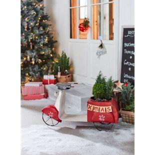 Deko-Objekt Weihnachts-Roller - Bild 1