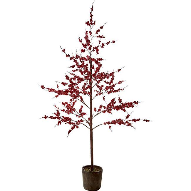Kunstpflanze Berry Rot - Bild 1