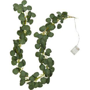 LED-Lichterkette Eukalyptus Grün - Bild 1