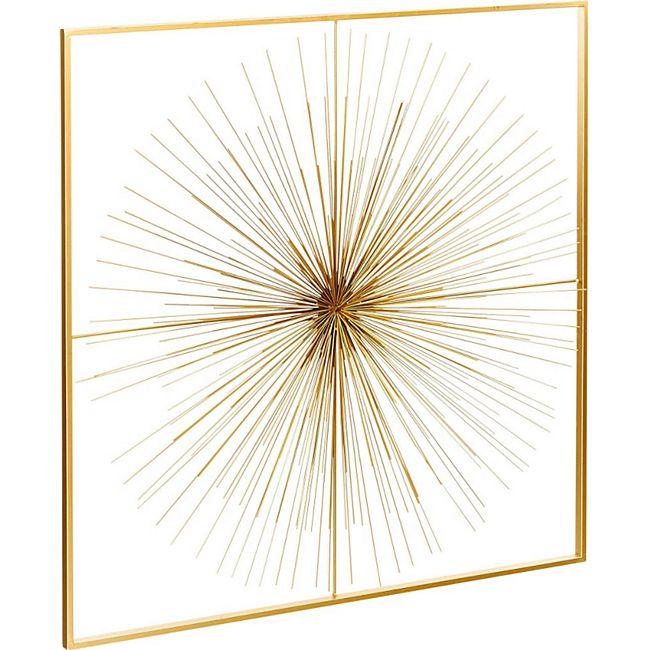 Wand-Objekt Sunny Goldfarben - Bild 1