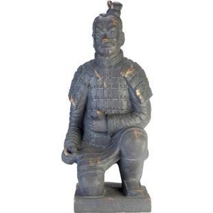 Deko-Figur Krieger Grau - Bild 1