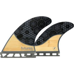 Futures Rasta Honeycomb Quad Finnen Set - Future Box - Bild 1