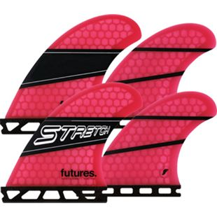 Futures Stretch Honeycomb Quad Finnen Set - Future Box - Bild 1