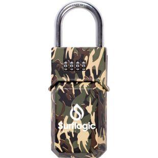 Surf Logic Camo Schloss / Schlüssel Box - Security Lock Breite in cm: 6 - Bild 1