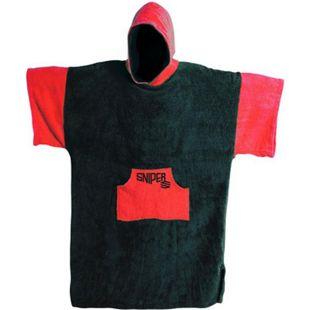 Sniper Poncho Farbe: Black / Red - Bild 1