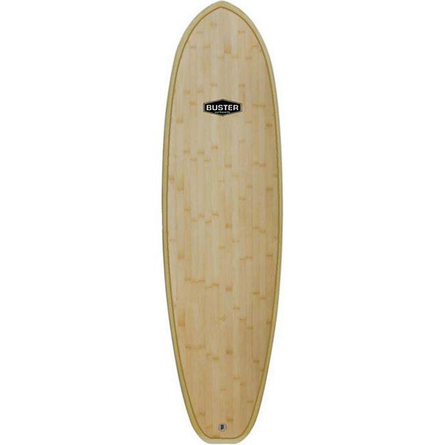 "Buster 6'4"" Wombat Wood Bamboo Surfboard - Bild 1"