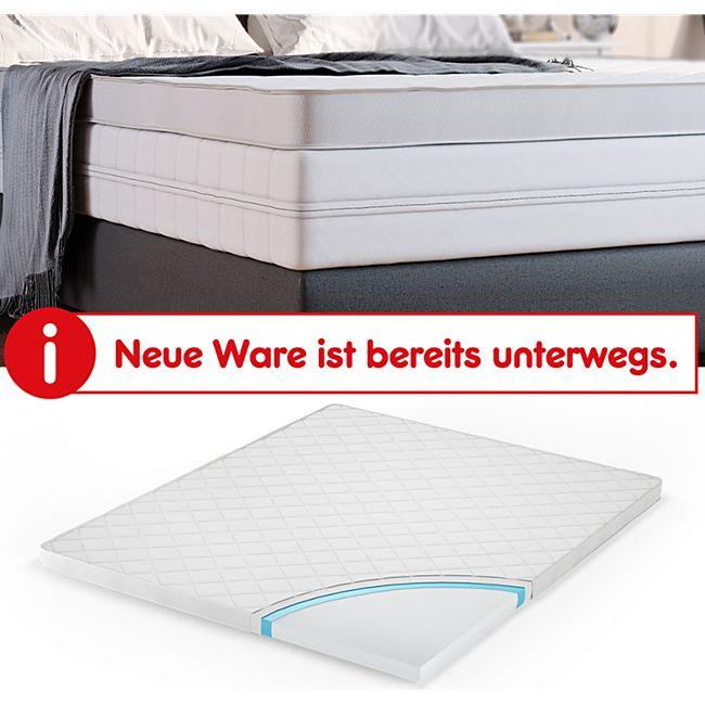Vitalispa Elastischer Kaltschaum Topper Matratzenauflage Matratzentopper 140x200 Online Kaufen Bei Netto
