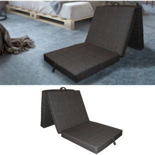 VitaliSpa Klappmatratze Faltmatratze Reisematratze Gästebett Bett 190x70x10cm - Bild 1