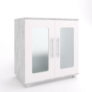 Vicco Waschtischunterschrank Rayk Unterschrank Waschbecken Waschtisch Bad Beton - Bild 1