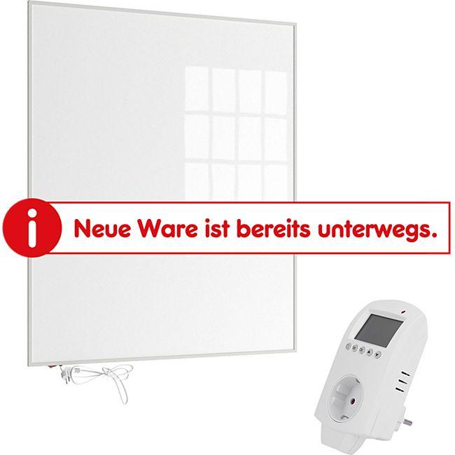 Eldstad Infrarotheizung Heizpaneel Infrarot Elektro Heizung  1200W  mit Thermostat - Bild 1