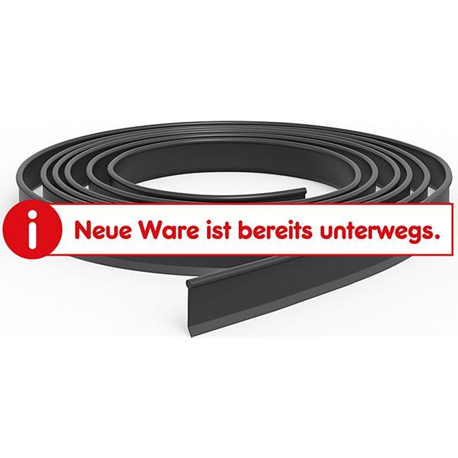 Rasenkante Beetumrandung Beeteinfassung Mähkante 11cm hoch schwarz in 10m - Bild 1