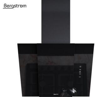 BERGSTROEM BJOERN Dunstabzugshaube Glas LED Wandhaube Schräghaube kopffrei 60 cm - Bild 1