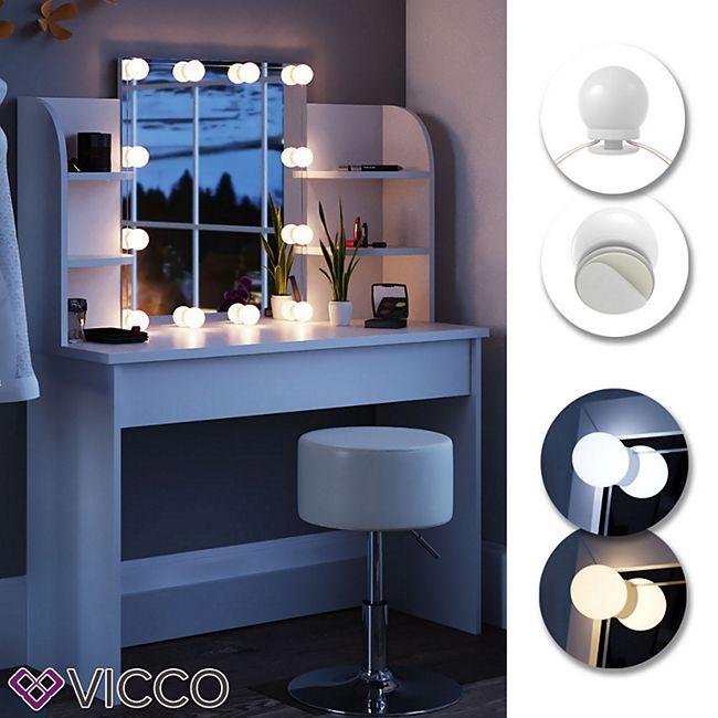 VICCO LED-Beleuchtung FÜR Schminktisch Frisiertisch Lichter für Make-Up - Bild 1