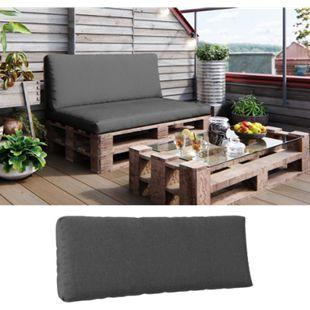 Vicco Palettenkissen Sitzkissen Rückenkissen Set Palettenmöbel, verschiedene Farben - Bild 1