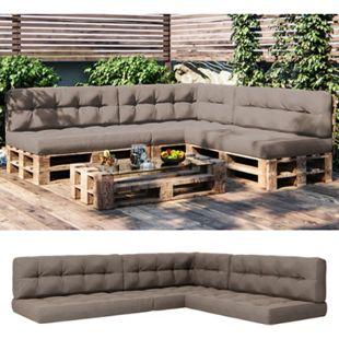 Vicco Palettenkissen-Set 3x Sitzkissen + 3x Rückenkissen + Seitenkissen, verschiedene Farben - Bild 1