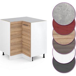 Vicco Küche R-Line Eckunterschrank 87 cm, verschiedene Farben - Bild 1