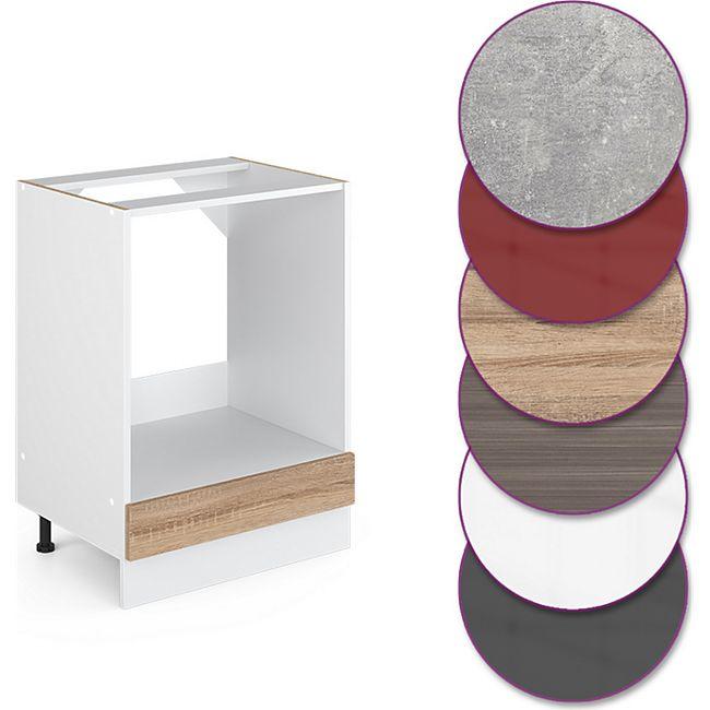 Vicco Küche R-Line Herdumbauschrank 60 cm, verschiedene Farben - Bild 1