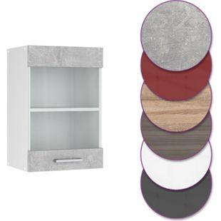 Vicco Küche R-Line Hängeglasschrank 40 cm, verschiedene Farben - Bild 1