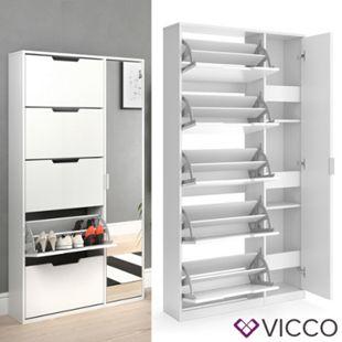 VICCO Schuhkipper LUCA groß 5 Fächer Schuhregal Schuhschrank Ständer - Bild 1