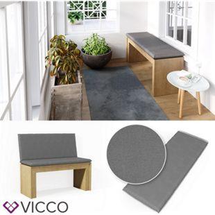 VICCO Bankauflage 100x40x5cm Bankpolster Gartenbank-Auflage Sitzpolster Auflage - Bild 1