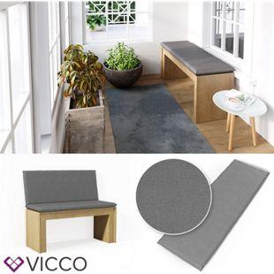 VICCO Bankauflage 120x40x5cm Bankpolster Gartenbank-Auflage Sitzpolster Auflage - Bild 1