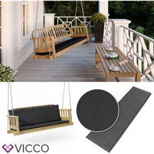 VICCO Bankauflage 140x40x5cm Bankpolster Gartenbank-Auflage Sitzpolster Auflage - Bild 1