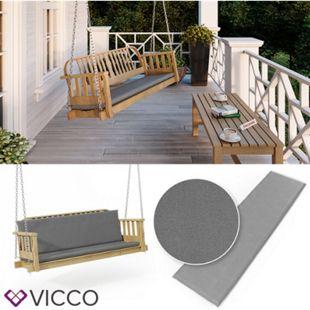 VICCO Bankauflage 150x40x5cm Bankpolster Gartenbank-Auflage Sitzpolster Auflage - Bild 1