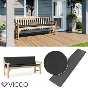 VICCO Bankauflage 180x40x5cm Bankpolster Gartenbank-Auflage Sitzpolster Auflage - Bild 1