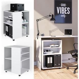 Vicco Rollcontainer für Schreibtisch Bürocontainer Büroschrank Aktenschrank - Bild 1