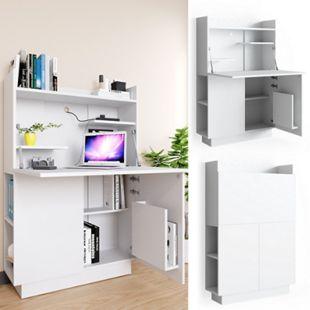 Vicco Schreibtisch-Schrank Alena Büroschrank Aktenschrank Computertisch Sekretär - Bild 1