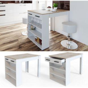 Vicco Bartisch Repose Stehtisch Loungetisch Tresentisch Tisch Küchentisch Regal - Bild 1