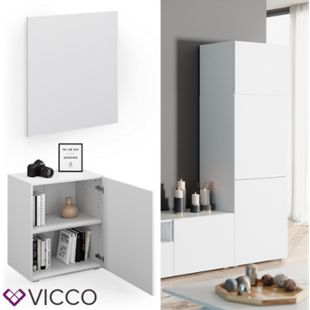 VICCO Tür Front COMPO M8 weiß Groß Schublade Aktenschrank Bücherregal - Bild 1
