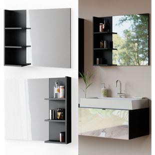 Vicco Spiegelschrank Bora Badezimmerspiegel Badspiegel mit Ablage Wandspiegel - Bild 1