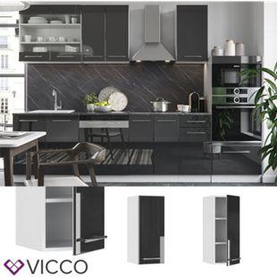 VICCO Hängeschrank 30 cm Anthrazit Küchenzeile Unterschrank Fame - Bild 1