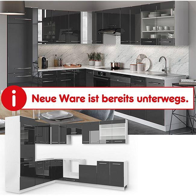 Vicco Küchenzeile Fame-Line Eckküche Winkel Küche Einbau Hochglanz - Bild 1