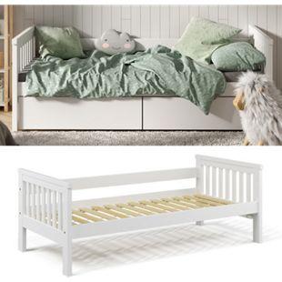 VitaliSpa Tagesbett Luna Kinderbett 90x200cm Kojenbett Jugendbett Bettgestell - Bild 1