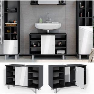 Vicco Waschtischunterschrank Fynn Badschrank Waschbeckenunterschrank Waschtisch - Bild 1
